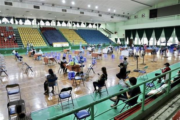 Ciudad Ho Chi Minh acelera programa de vacunacion contra COVID-19 hinh anh 1