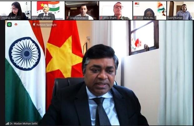 Comunidad india apoya a Ciudad Ho Chi Minh en combate contra el COVID-19 hinh anh 1