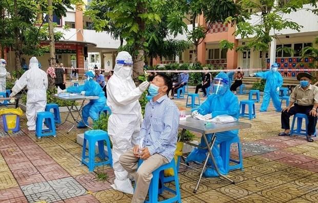 Vietnam reporta mas de cuatro mil casos del COVID-19 durante las ultimas 12 horas hinh anh 1