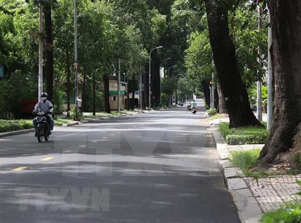 Ciudad Ho Chi Minh extiende el distanciamiento social por otros 14 dias hinh anh 1