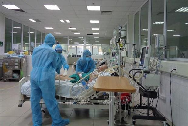 Ciudad Ho Chi Minh acelera funcionamiento de centros de cuidados intensivos para hacer frente al COVID-19 hinh anh 1
