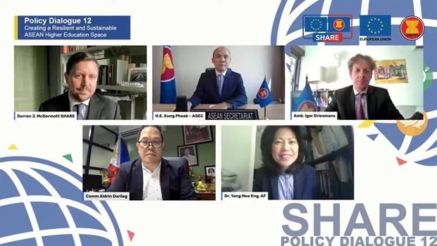 ASEAN y UE cooperan en internacionalizacion de la educacion superior hinh anh 1
