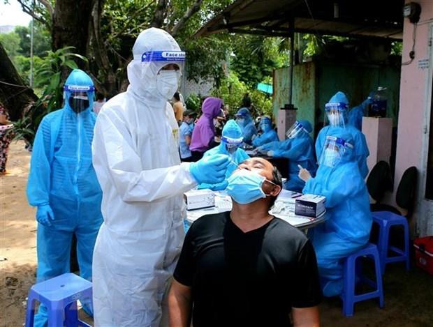 A la baja nuevos casos del COVID-19 en Vietnam hinh anh 1