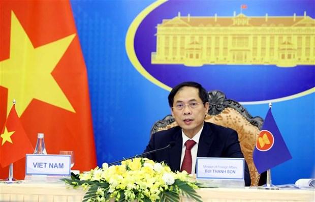 Vietnam pide a ASEAN reforzar cooperacion politica y en seguridad hinh anh 2