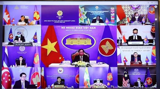 Vietnam pide a ASEAN reforzar cooperacion politica y en seguridad hinh anh 1