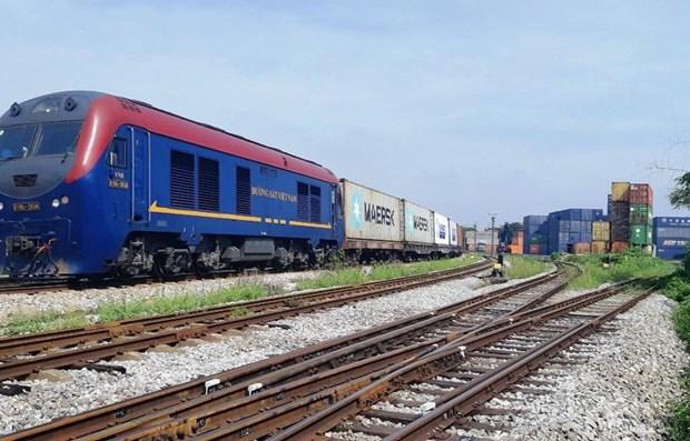Industria ferroviaria de Vietnam por ampliar servicios logisticos hinh anh 1