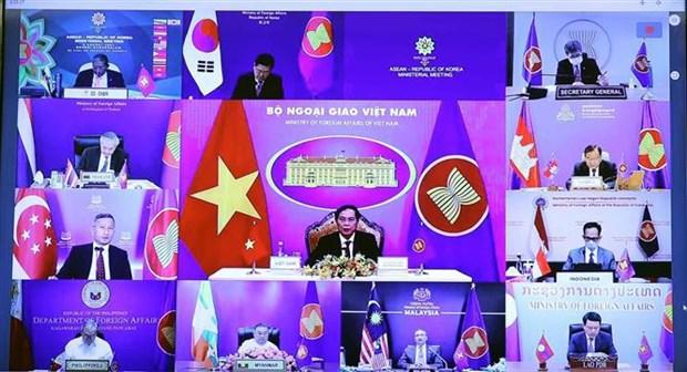 ASEAN y Corea del Sur profundizan relaciones de asociacion estrategica hinh anh 1