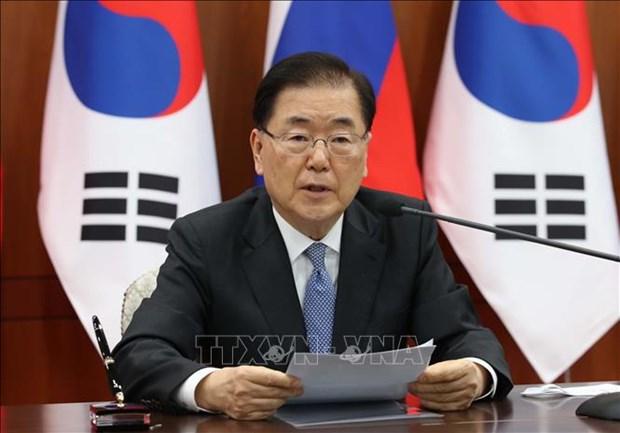 Corea del Sur exhorta a fomentar la solidaridad mundial en lucha contra el COVID-19 hinh anh 1