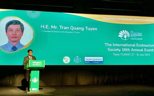 Vietnam busca promocionar sus potencialidades turisticas en Turquia hinh anh 1