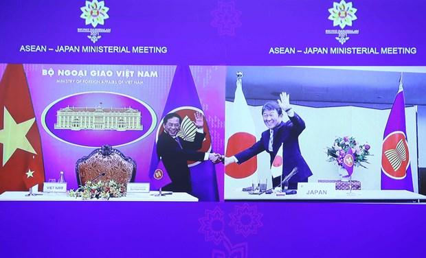 Copreside Vietnam reunion de cancilleres ASEAN-Japon hinh anh 1