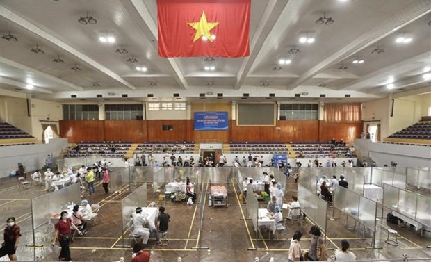 Amanece Vietnam con tres mil 578 casos del COVID-19 hinh anh 1
