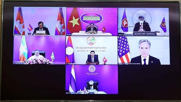 Efectuan segunda Reunion Ministerial de Asociacion Mekong-Estados Unidos hinh anh 2