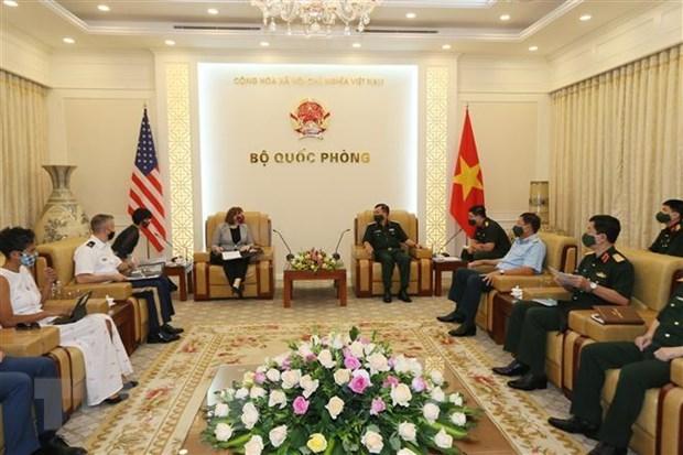 Vietnam y EE.UU. por agilizar cooperacion en superacion de secuelas de bombas y dioxina hinh anh 1