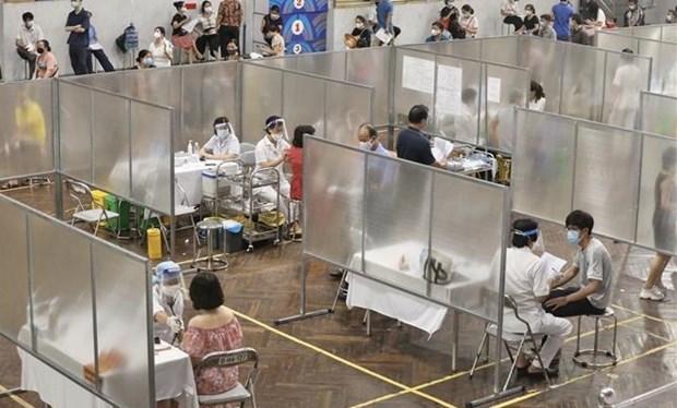 Lista Hanoi para la campana de vacunacion contra el COVID-19 hinh anh 2