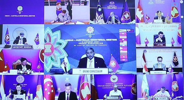 Ratifican ASEAN y Australia relaciones de asociacion estrategica hinh anh 1