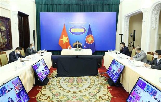 ASEAN y Estados Unidos priorizan respuesta al COVID-19 y recuperacion sostenible hinh anh 2