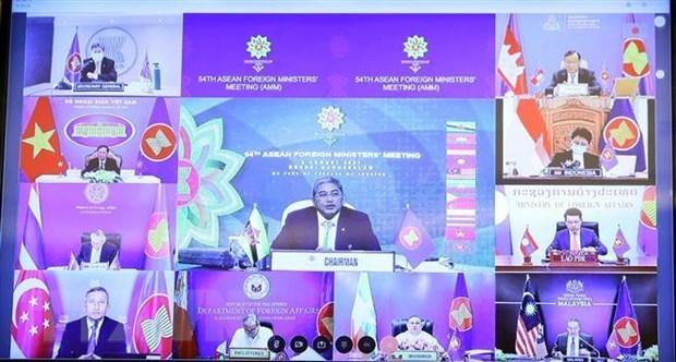 ASEAN reitera importancia de resolver por via pacifica disputas en el Mar del Este hinh anh 1