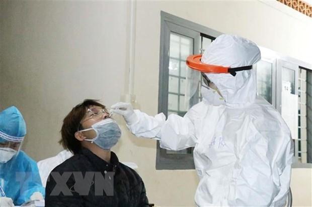 Disminuye numero de nuevos casos del coronavirus en Ciudad Ho Chi Minh hinh anh 1