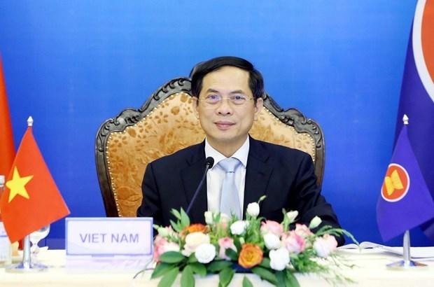 ASEAN y socios intensifican cooperacion en respuesta al COVID-19 hinh anh 1