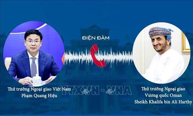 Robustecen nexos entre Vietnam y Oman hinh anh 1