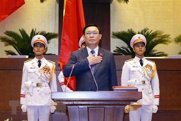 Presidente del Parlamento vietnamita recibe felicitacion de su homologo cubano hinh anh 1