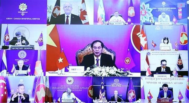 ASEAN y los socios aprecian ideas y propuestas de Vietnam, dice portavoz hinh anh 1
