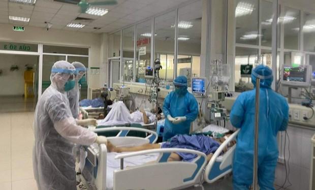 Instan a Ciudad Ho Chi Minh a centrarse en recibir y tratar a pacientes graves con COVID-19 hinh anh 1