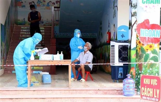 Vietnam registra tres mil 301 casos del COVID-19 hinh anh 1