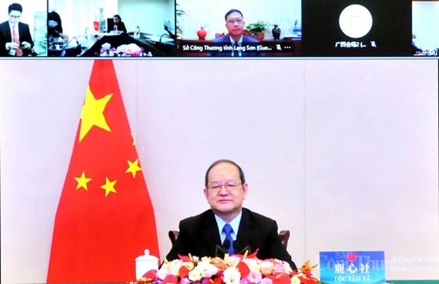 Promueven comercio fronterizo entre Vietnam y region china de Guangxi hinh anh 2