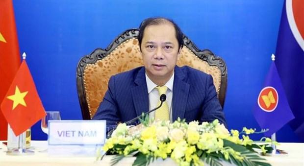 ASEAN y Nueva Zelanda estrechan cooperacion para mantener paz y estabilidad regional hinh anh 1