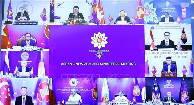 ASEAN y Nueva Zelanda estrechan cooperacion para mantener paz y estabilidad regional hinh anh 2