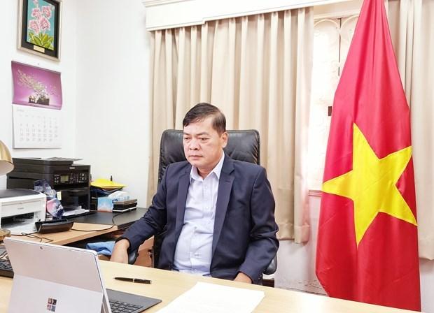 Singapur organiza seminario virtual sobre transformacion economica en Vietnam hinh anh 1