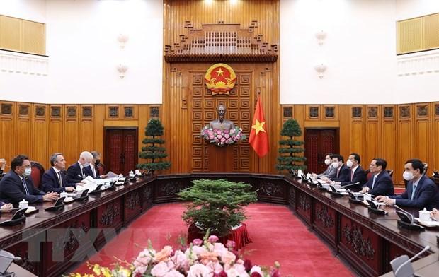 Premier vietnamita agradece a Suiza por su ayuda oportuna en medio del COVID-19 hinh anh 1