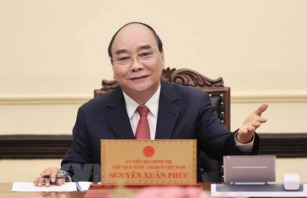 Presidente de Vietnam visitara Laos la proxima semana hinh anh 1