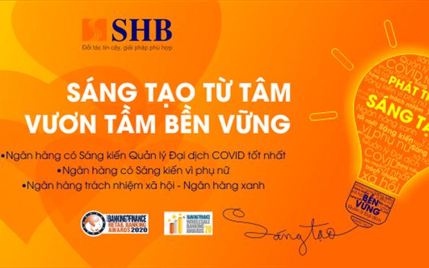 SHB gana tres premios de banca y finanzas de Asia en 2021 hinh anh 1