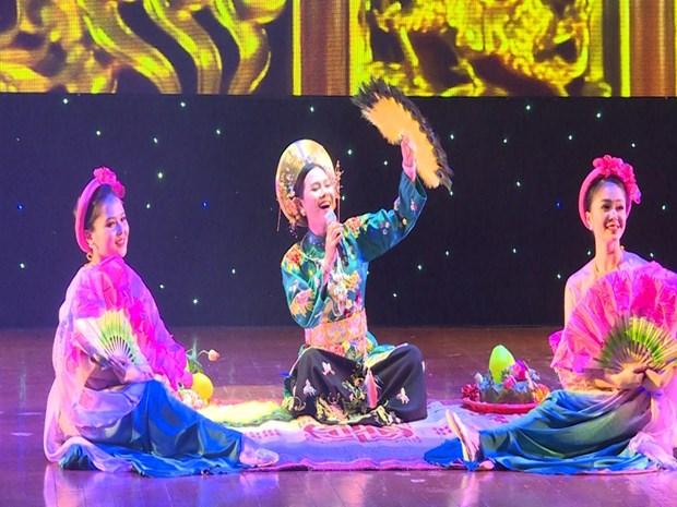 Presentan identidad cultural vietnamita en Army Games 2021 hinh anh 1