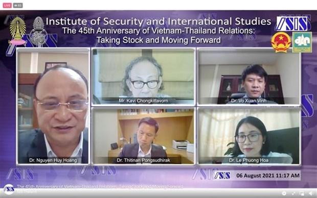 Efectuan seminario sobre perspectivas de las relaciones entre Vietnam y Tailandia hinh anh 1
