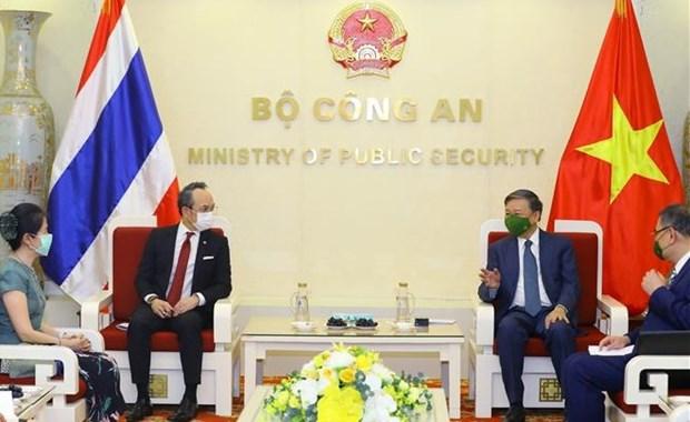 Destacan relaciones Vietnam-Tailandia hinh anh 1