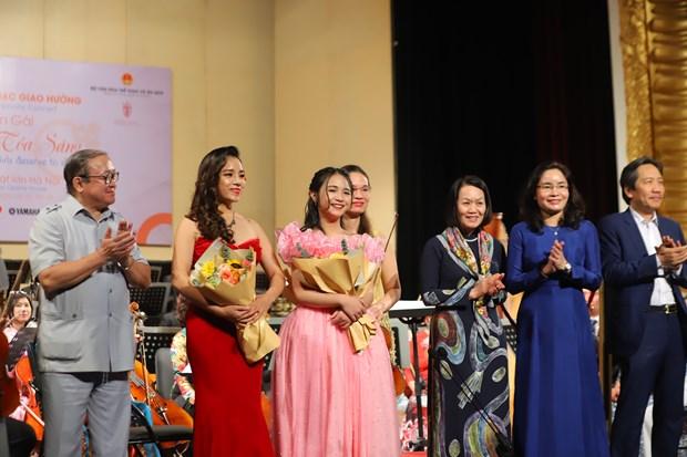 Fondo de la ONU retransmitira concierto a favor del empoderamiento de la mujer en Vietnam hinh anh 1