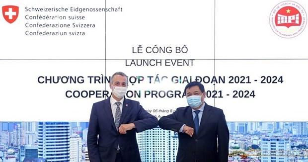 Suiza financia con 80 millones de dolares a Vietnam para mejorar entorno de negocios hinh anh 1
