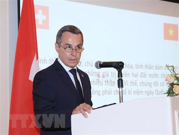 Vietnam y Suiza promoveran cooperacion en tecnologia e innovacion hinh anh 1