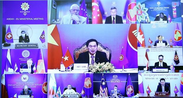 ASEAN y UE consideran establecer TLC bilateral hinh anh 1