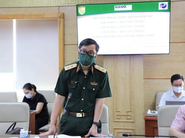 Vietnam adelanta ultimo fase de ensayo clinico de vacuna autoctona contra COVID-19 hinh anh 2