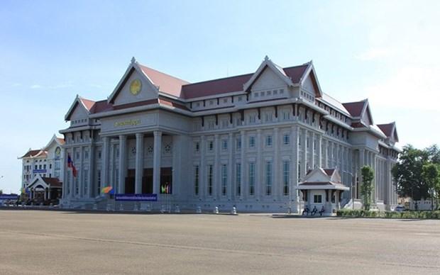 Nueva sede del Parlamento de Laos: obsequio especial de Vietnam hinh anh 1