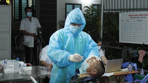 Vietnam reporta nueve mil 690 casos de COVID-19 en jornada dominical hinh anh 1