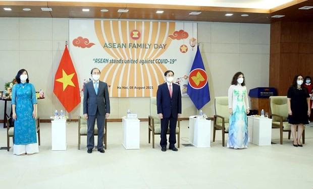 Efectuan Dia de la Familia de la ASEAN 2021 en Vietnam hinh anh 1