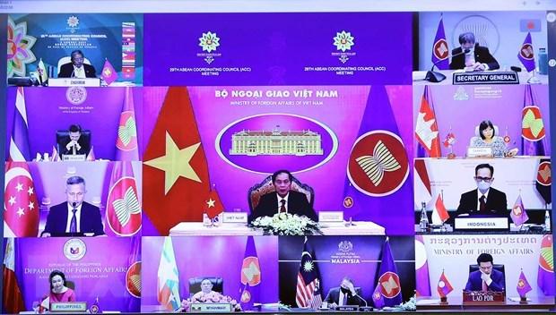 ASEAN crea oportunidades para conexion de Vietnam con region y mundo, segun canciller hinh anh 1