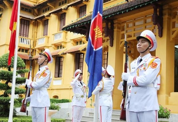 Unida ASEAN para superar los desafios e impulsar desarrollo hinh anh 1
