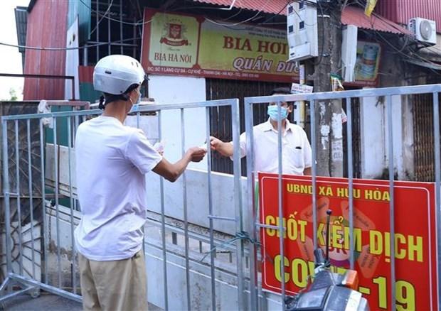 Amanece Vietnam con mas de cuatro mil 900 casos nuevos de COVID-19 hinh anh 1