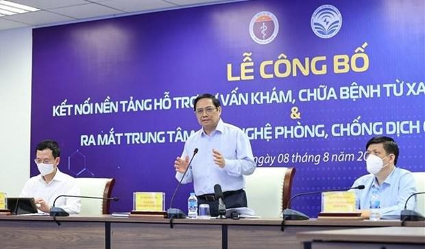 Conectan plataforma nacional de control remoto de salud a todas localidades en Vietnam hinh anh 1